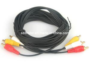 High Quality 3RCA-3RCA AV Cable