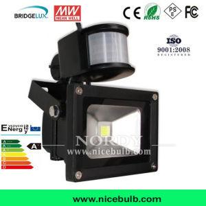10W Outdoor Sensor LED Floodlight