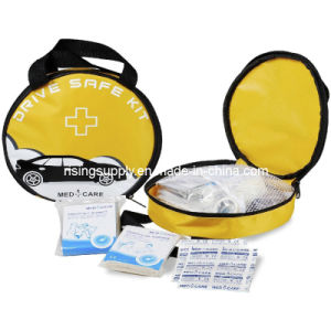 Round First Aid Kit (HS-021) pictures & photos