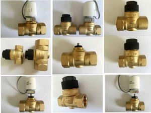 Brass 2 Way Linear Mixing Valve pictures & photos