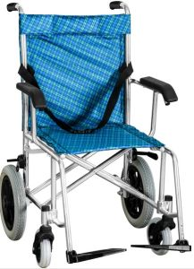 Aluminum Manual Wheelchair Dkx-1 pictures & photos
