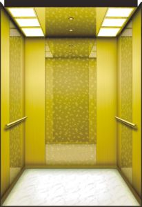 Mrl Passenger Lift with Luxury Decoration Cabin pictures & photos