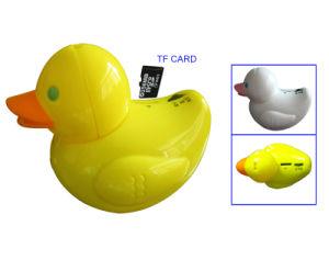 Portable Mini Duck Shape Cute Speaker with TF Card