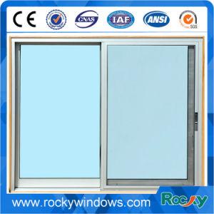 Sliding Aluminum Window/Aluminum Wood Grain Sliding Window and Door pictures & photos