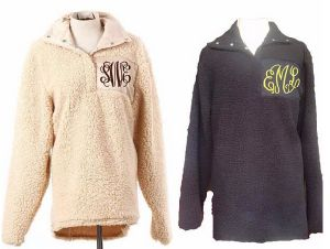 Monogrammed Fleece Sherpa Pullover (10121) pictures & photos