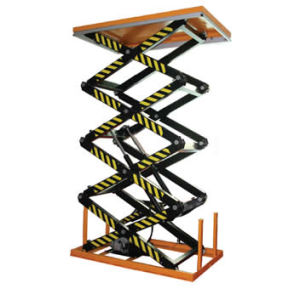 Four Scissor Lift Table (HF Series) pictures & photos