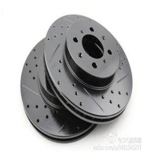 Cross Drilled and Slotted Brake Disc for Toyota Japan 43512-20530 pictures & photos