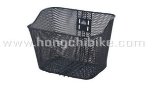 Bicycle Accessories Bicycle Part of Steel Basket (HC-85423T) pictures & photos