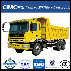 JAC 6X4 25ton 10 Wheel Dump Truck Capacity 18cbm pictures & photos