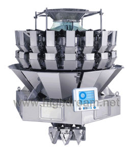 Highdream Double Chutes 14/18 Heads High Speed Weigher