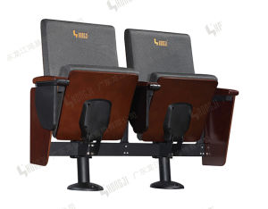 VIP Series 2 Seater Cinema Theater Chair in College Auditorium Hj8101A pictures & photos