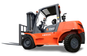 6.0 Ton Diesel Forklift with ISUZU Engine pictures & photos
