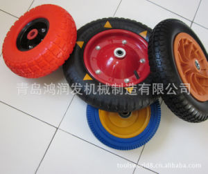 Colourful PU Wheel 300-8 Caster pictures & photos