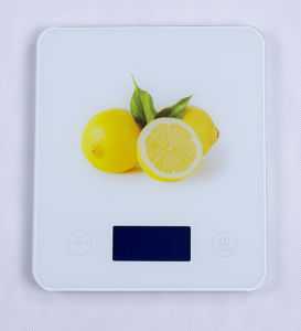 Water Transfer Design Electronic Kitchen Scale (BK763G) pictures & photos