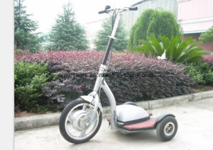 500W Big Power Adult Foldable Electric Scooter with Seat for Sale pictures & photos