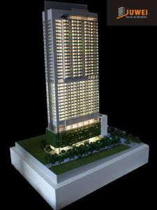 3D Plastic Architectural Scale Model of Commercial Building (JW-166) pictures & photos