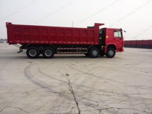 Sino Truck 371 8X4 15-25m3 Cargo Box 50 Tons Heavy Dumper Truck pictures & photos