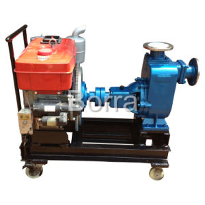 Small Single-Cylinder Diesel Self-Priming Pump pictures & photos