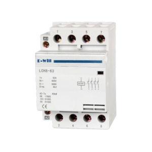 Dh8 Series DIN Rail Modular Household AC Contactor (DH8)