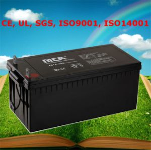 Sealed Lead Acid Battery 12V 250ah Power Supply pictures & photos