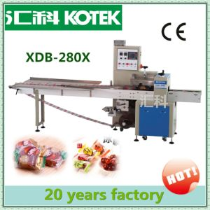 Pillow Pack Wrap Mini Flowpacker Horizontal Flow Dry Banana Piece Packaging Equipment Automatic Plantain Slice Packing Machine pictures & photos