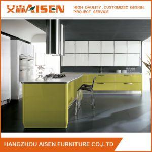 Australia Kitchen Furniture Modern Lacquer Finish Kitchen Cabinet pictures & photos