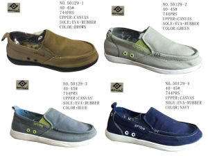 No. 50129 Men Casual Stock Shoes Four Colors pictures & photos