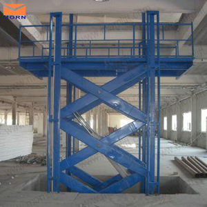 1ton Hydraulic Warehouse Cargo Lift pictures & photos