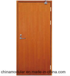 BS Certificate Wooden Fire Door for Hotels (CHAM-BSWD001) pictures & photos