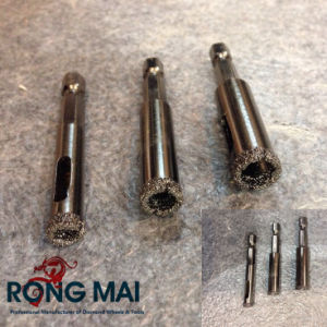Granite Vacuum Brazed Core Bits