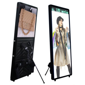LED Backpack Light Box with LED Screen Message