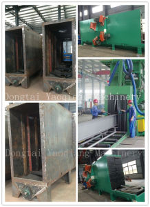 Steel H Profile All Direction Automatic Shot Blasting Machine pictures & photos