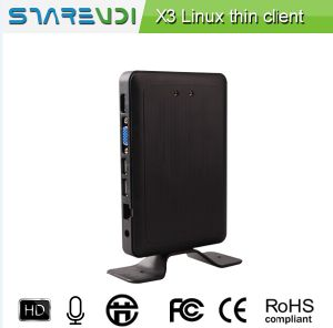 USB Thin Client Arm-A9 Framework Dual Core 1GHz 512MB RAM Linux Embedded Support WiFi HDMI VGA for School or Office