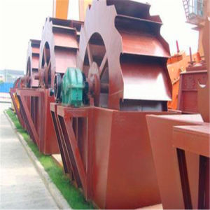 Hot Sale Sand Washing Machine, Wheel Bucket Rock Sand Washer Price pictures & photos