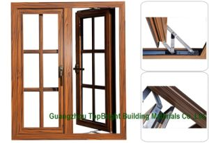 Wooden/Wood Frame Casement Windows with Opener Price pictures & photos