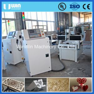 Small Wood Carving Machine with Small Steel Tube Structure pictures & photos