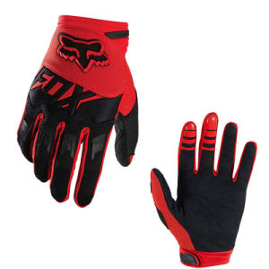 Red&Black Wear-Proof Motorcycle off-Road Racing Gloves (MAG61) pictures & photos