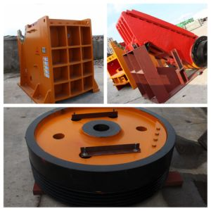PE Jaw Crusher Spare Part Flywheel pictures & photos