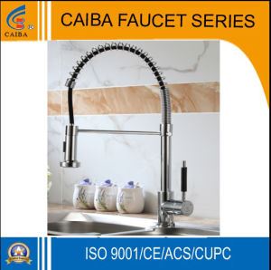 Modern and Popular Brass Spring Kitchen Faucet CB-21205 pictures & photos