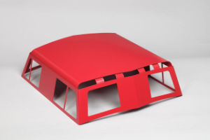 Train Cupola Custom Metal Stamping Parts with Red Powder Coating pictures & photos