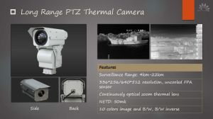Long Range Surveillance Thermal Camera for Intruders pictures & photos