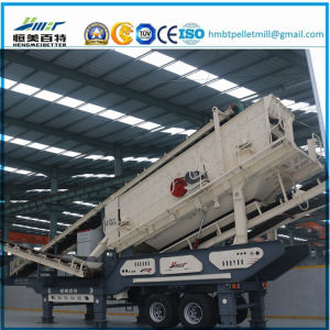Construction Waste Stone Impact Crusher Mobile Plant pictures & photos