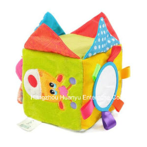 Baby Plush Stuffed Educational Block Toy pictures & photos