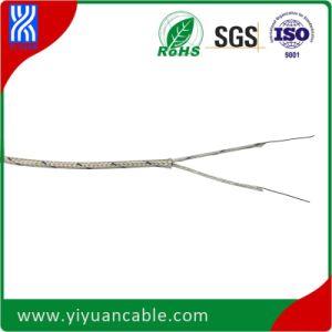 Fiberglass/Fiberglass K Type Thermocouple Cable (0.3mm, solid)