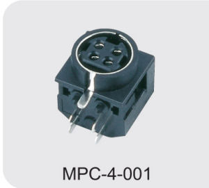 Mini DIN Power Connector (MPC-4-001) pictures & photos