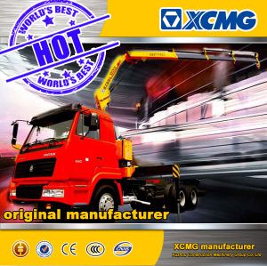 2017 XCMG Official Newest 5ton Sq5zk3q Folding-Arm Truck Mounted Crane for Sale pictures & photos