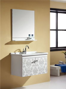 Modern Small Solid Bathroom Cabinet Ca-M128 pictures & photos
