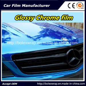 Glossy Chrome Film Car Wrapping Car Wrap Vinyl pictures & photos