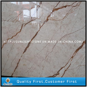 Building Materials Yellow Crema EVA Marble Slabs and Cream Marble pictures & photos