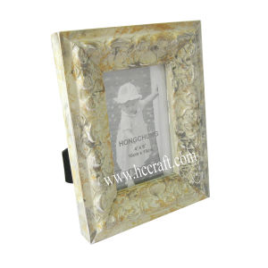 Gesso /Compo Jewels Wooden Photo Frame pictures & photos